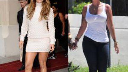 Jennifer Lopez nu se vede grasă. Vezi ce vedete îşi iubesc formele!