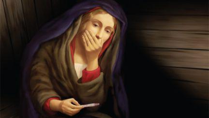 Fecioara Maria şi testul de sarcină – reclama care a şocat lumea