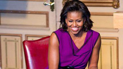 Michelle Obama are cont pe Twitter