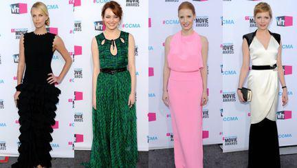 Top 4 cele frumoase rochii de la premiile Critics' Choice 2012