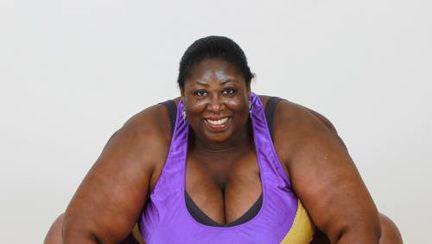 Foto: cum arată o luptătoare de sumo