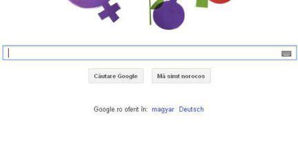 Google sărbătoreşte Ziua Internaţională a Femeii 2012 printr-un logo special