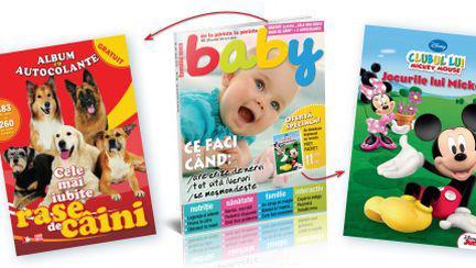 Surpize pentru cei mici de la revista Baby pe 1 iunie