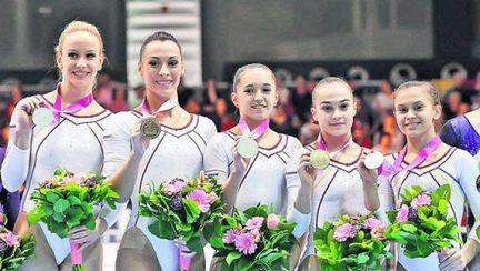 Gimnastică:  4 medalii de aur din 5 posibile, la Bruxelles