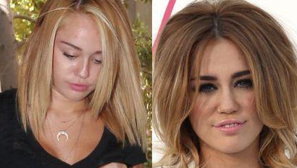 Poze: Miley Cyrus s-a vopsit blondă. Îţi place cum îi stă?