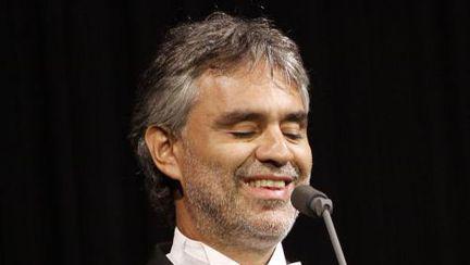 Andrea Bocelli, primul concert în România
