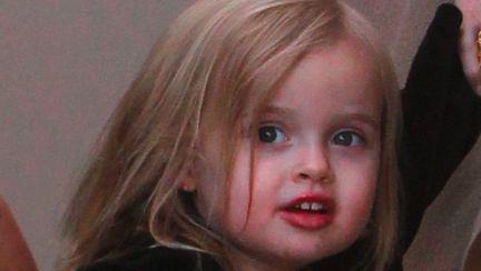 Fiica Angelinei Jolie, actrita la 4 ani