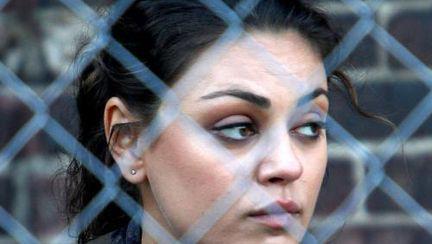 Poze: Mila Kunis pe platoul de filmare