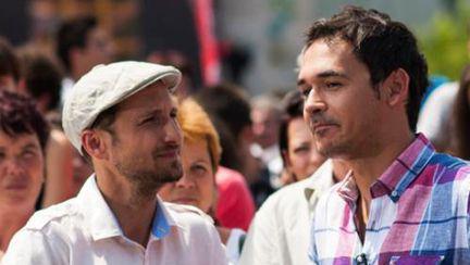 VIDEO din culisele X Factor: Răzvan şi Dani nu dorm nici toamna