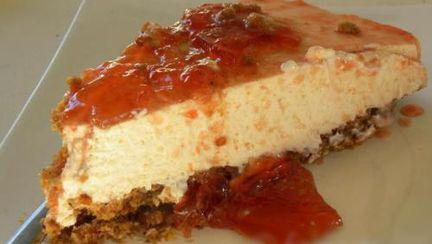 Reţete raw: Cheesecake de gutui fără foc