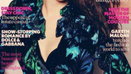 Kristen Stewart pe coperta Vogue UK