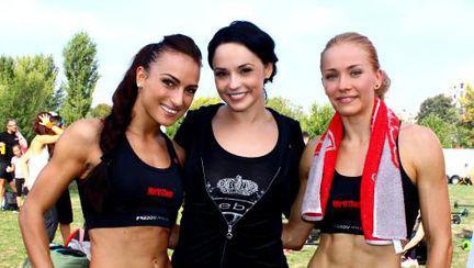 Andreea Marin a lansat în Parcul Izvor conceptul CX WORX la Fall Kick Off 2012