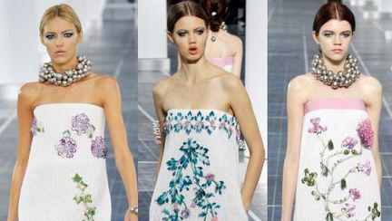 Wow! Ce rochii superbe în prezentarea Chanel primăvară-vară 2013!