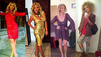 Stil de vedetă: Delia, o artistă sexy care se îmbracă la modă! Îţi place?