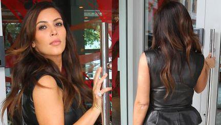 Kim Kardashian, din nou cu fundul enorm la vedere. Uite cum arată!