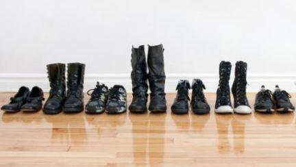 Idei ingenioase: cum să-ţi depozitezi pantofii