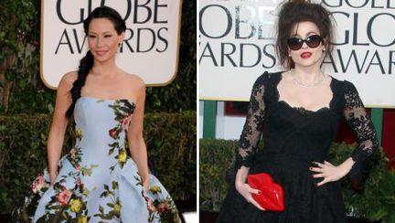 Ce urât! Două rochii oribile la Globurile de Aur 2013