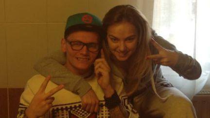 """Poze: Roxana Ionescu, Crăciun cu partenerul de la """"Dansez pentru tine"""""""