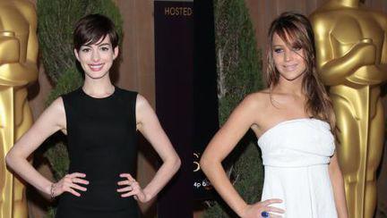 Oscar 2013: Cum s-au îmbrăcat vedetele la prânzul nominalizaţilor