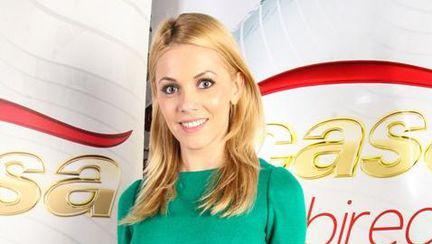 Andreea Ibacka, superbă în verde la petrecerea Acasă TV. Vezi pozele!