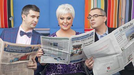 Matinalii: Monica Anghel, George Zafiu si Vlad Petreanu