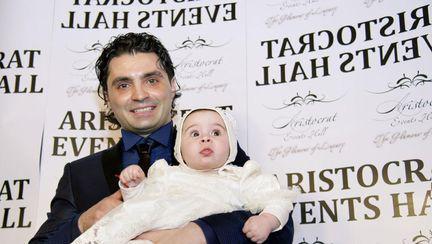 Exclusiv: Cele mai frumoase poze de la botezul fetiţei lui Pepe
