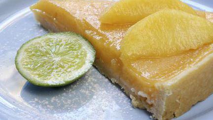 DESERT: Tartă cu cremă de lămâie