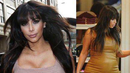 Poze: Kim Kardashian nu-şi mai ascunde burtica. Uite cât de mult s-a îngrăşat!