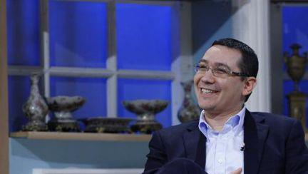 Victor Ponta la Serviciul Român de Comedie