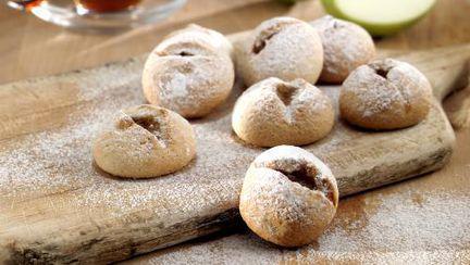 DESERT de POST: Fursecuri cu mere