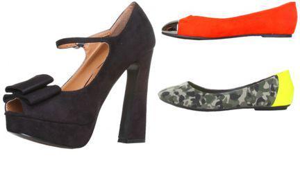 MODĂ: 5 perechi de pantofi superbi şi ieftini, sub 80 lei!