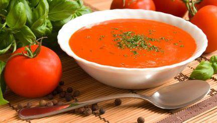 REŢETE de POST: Supă de roşii