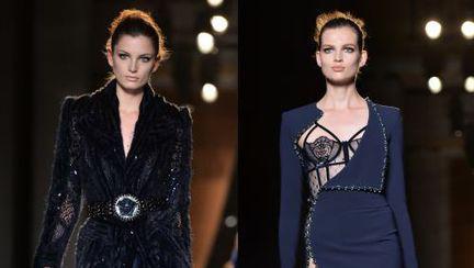 Rochii Versace Atelier la Săptămâna Modei la Paris