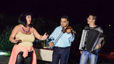 Ozana Barabancea, distracţie alături de colegi