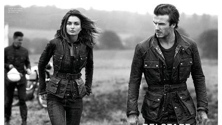 O româncă alături de David Beckham în ultima lui reclamă