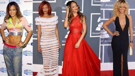 Iată cum a evoluat stilul Rihannei de-a lungul anilor!