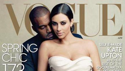 Kim Kardashian şi Kanye West, parodiaţi după apariţia lor în Vogue. Imaginile sunt haioase!
