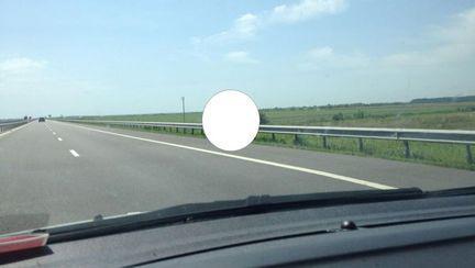 De necrezut! Iată ce au văzut românii astăzi pe autostradă!