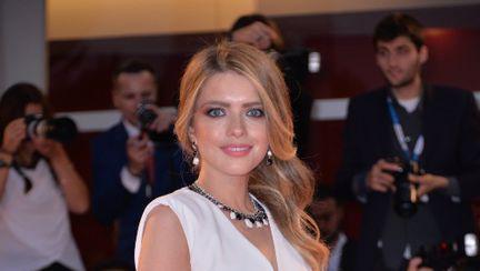 Alexandra Dinu, colier de diamante de 100 000 de euro. A făcut furori la Festivalul de film de la Veneţia