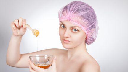 femeie spa miere