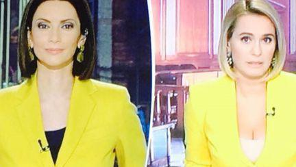 Ce s-a întâmplat după ce Andreea Esca și Andreea Berecleanu au apărut îmbrăcate la fel la TV