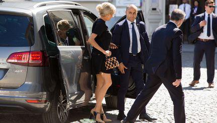 Briggite Macron la Bruxelles