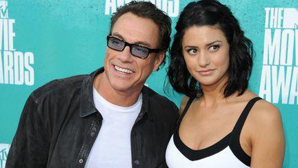 Jean Claude Van Damme si Bianca Van Damme