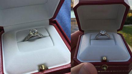 A aflat că este înșelat la numai o săptămână după logodnă. Ce vrea să facă acum cu inelul de 33.000 de dolari