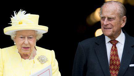 Regina Elisabeta si Printul Philip
