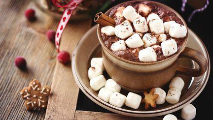 Cana cu ciocolată și bezele