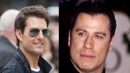 John Travolta și Tom Cruise