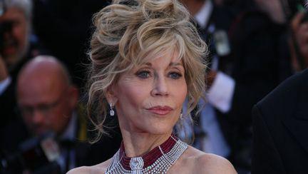 Jane Fonda la un festival