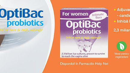 (P) OptiBac Probiotics- adaptate nevoilor tale