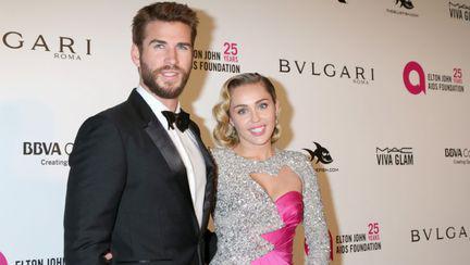 Miley Cyrus și Liam Hemsworth